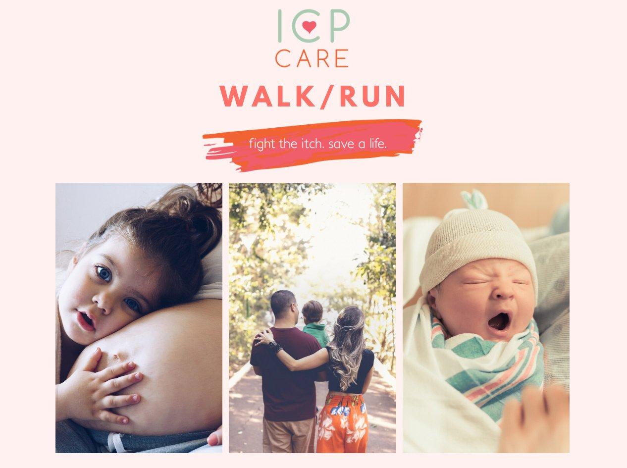 ICP Pregnancy Virtual Walk Run